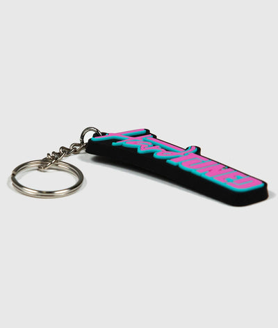 Pink HardTuned Soft Rubber Key Ring