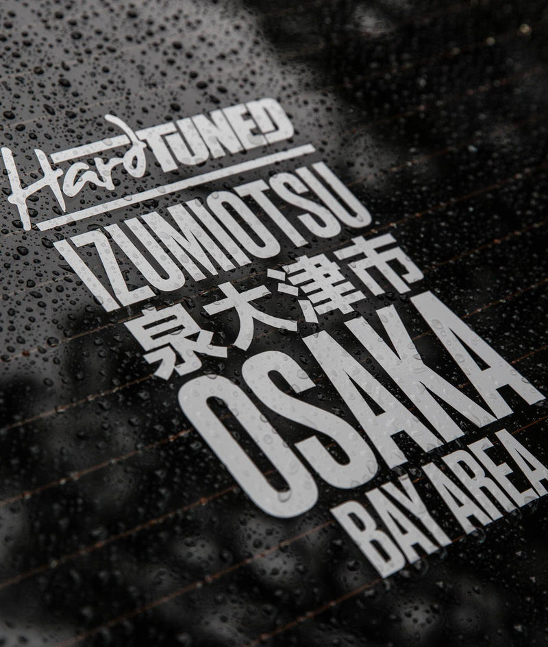 Sticker - Hardtuned Osaka Window Slap