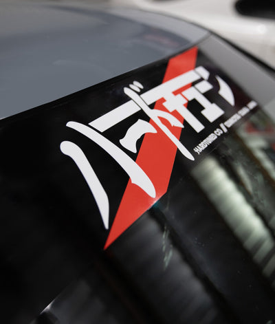 HardTuned Window Banner - JDM Stripe