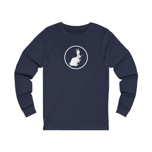 The Follow the White Rabbit Long Sleeve Tee - Women's