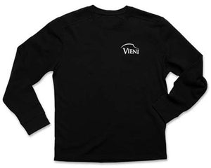 Men's Black Vieni Sweater