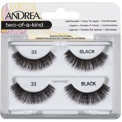 Andrea Two-of-a-Kind (Twin Pack) #33 Lashes