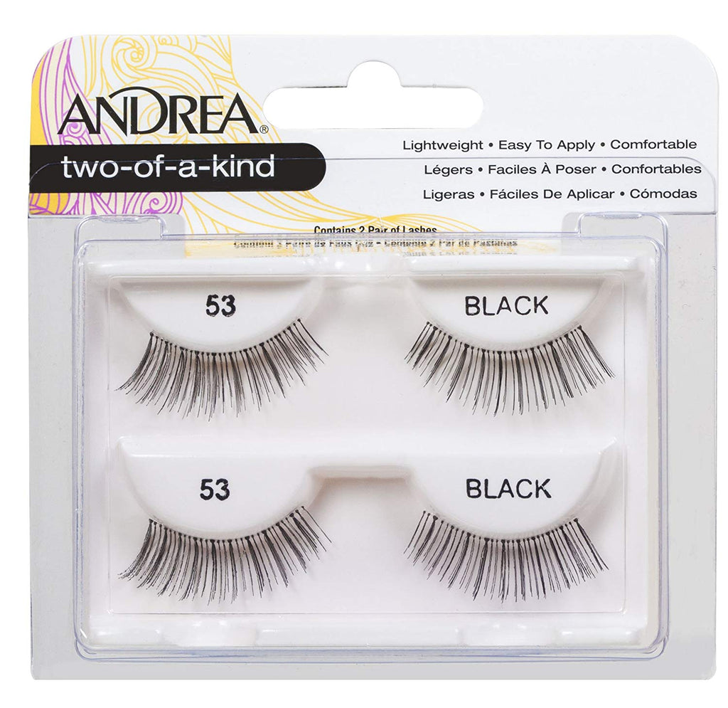 Andrea Two-of-a-Kind (Twin Pack) #53 Lashes