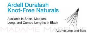 Ardell Professional Individual Lashes Duralash Naturals LONG Lashes 6 Pack Refills