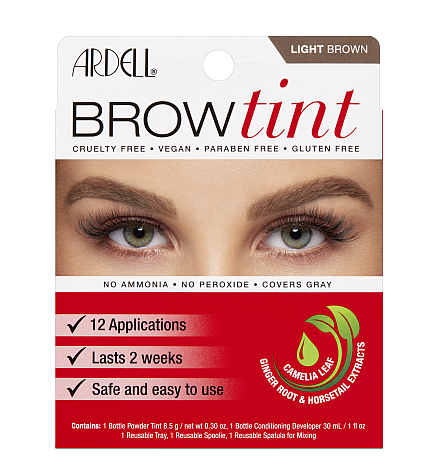 Ardell Brow Tint - Light Brown (12 Applications)