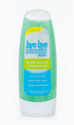 Bye Bye Blemish Anti-Acne Cleanser with Menthol 8 oz (236 ml)