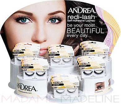 Andrea Self-Adhesive 18pc Lash Display (69109)