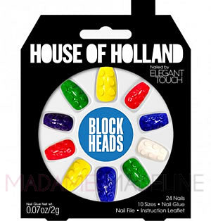 House Of Holland Nails By Elegant Touch - BLOCK HEADS