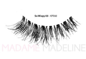 KISS i-ENVY Premium So Wispy 03 Lashes (KPE60)