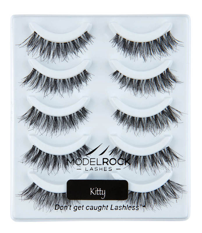ModelRock KITTY Lashes - 5 Pairs Lash Multi Pack