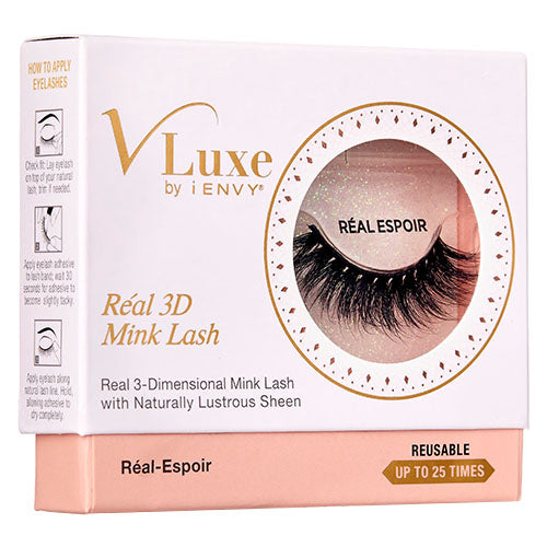 V-Luxe by KISS i-Envy Real 3D Mink Lashes - Real Espoir (VLER02)