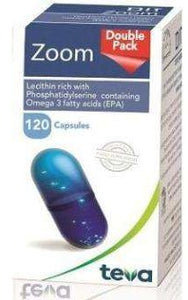 Zoom Teva 120 - Clinically Tested ADHD Supplement | Vayazoom