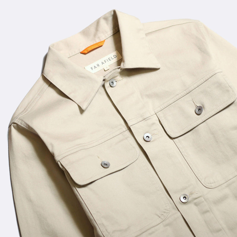 Watts Jacket in Pumice Stone