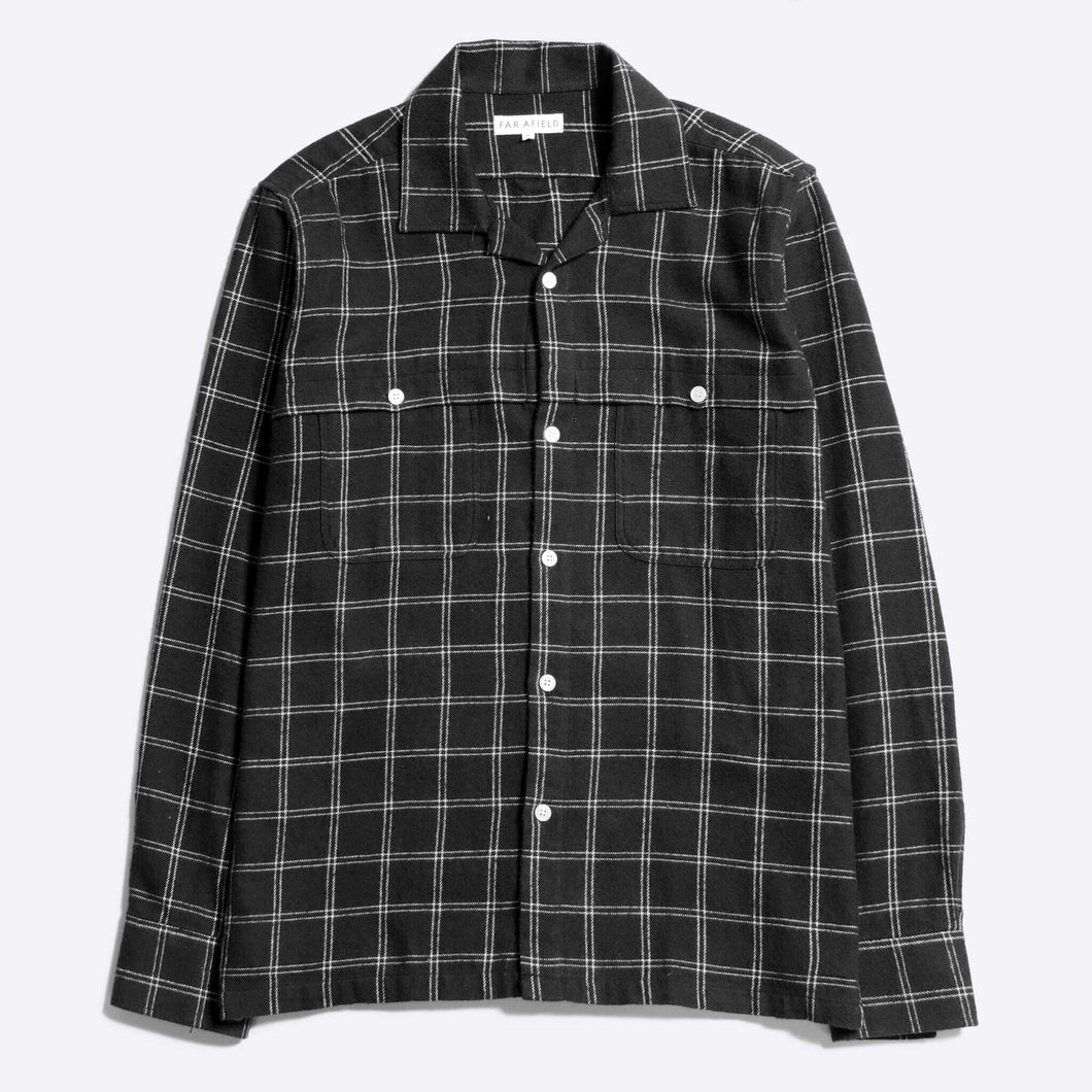Far Afield Bartos Shirt in Navy