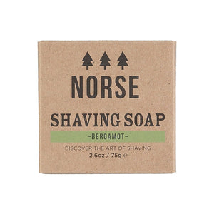 Norse Lifestyle Shaving Soap in Bergamot