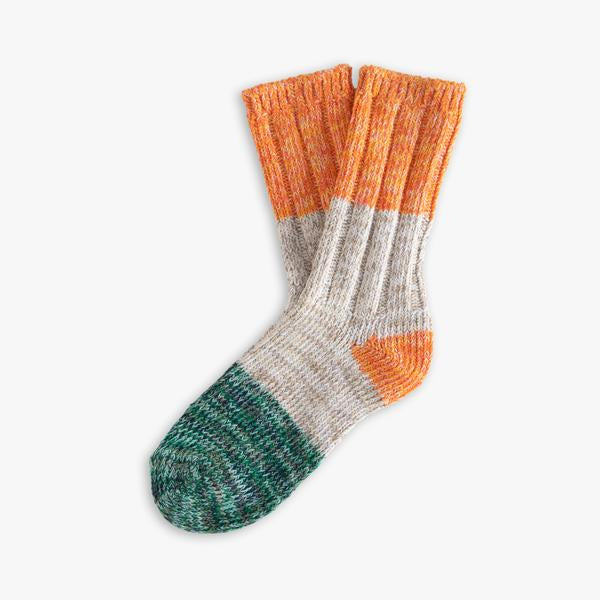 Socks in Orange Love