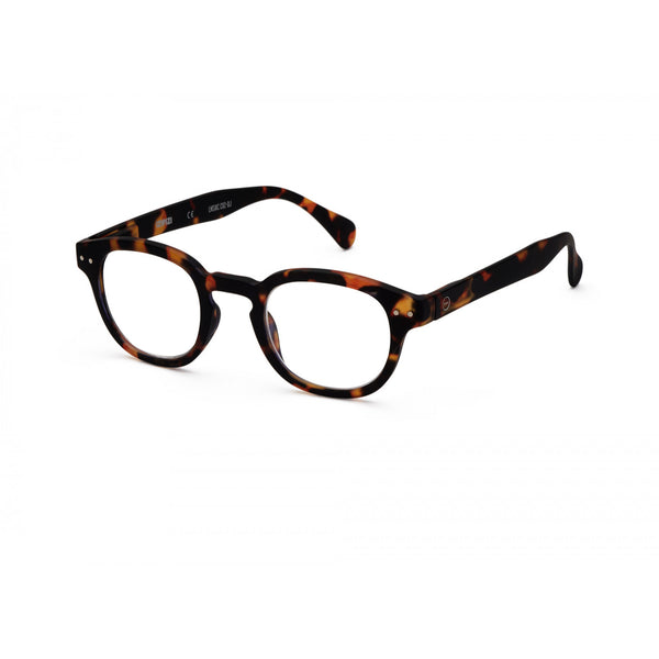 Reading Glasses Model C in Tortoise