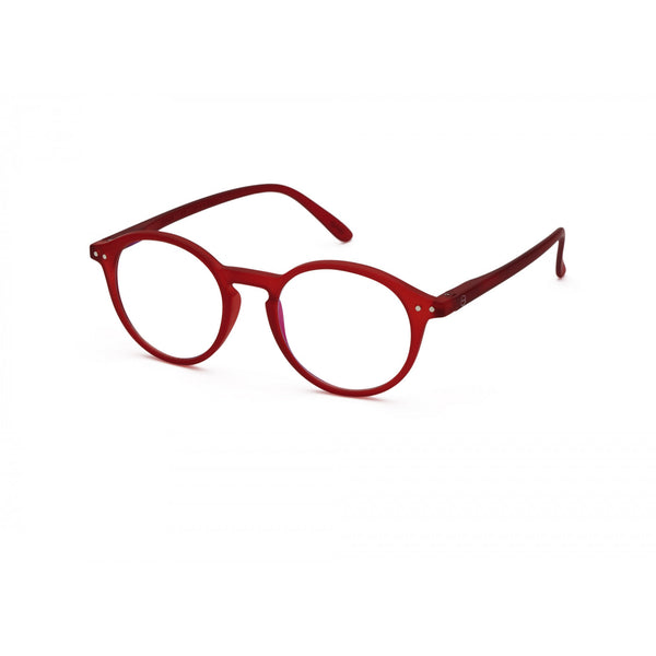 Screen Reader Glasses Model D in Red