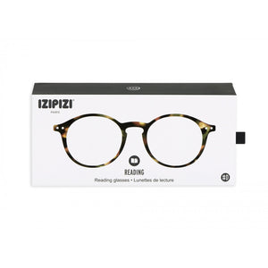 Izipizi Reading Glasses Model D in Tortoise