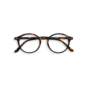 Reading Glasses Model D in Tortoise