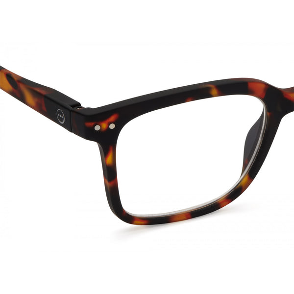 Reading Glasses Model L in Tortoise