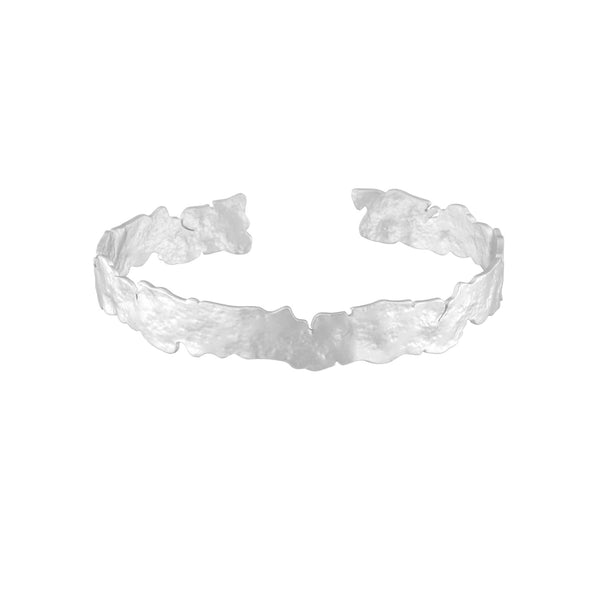 Amelia Bracelet in Rhodium Plating