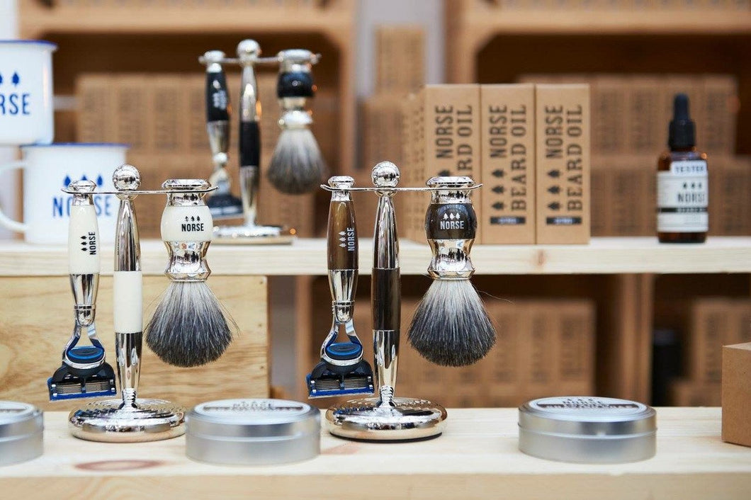 Norse Lifestyle Shaving Brush in Ebony
