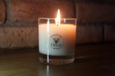 Large Candle in Box - Hearth