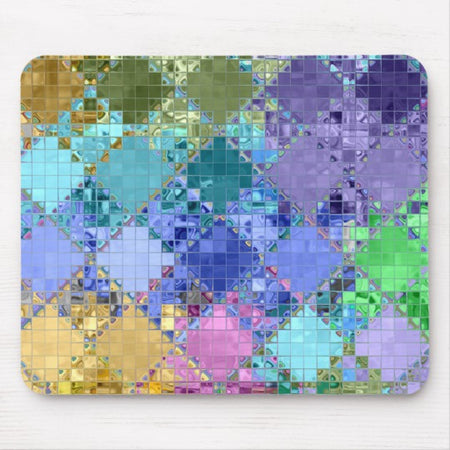 Colorful Bright Unique & Customizable Mouse Pad