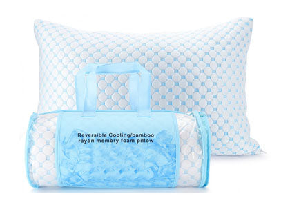 Micro Bamboo Memory Foam Pillows