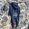 DON'T GET YOUR TINSEL IN A TANGLE HOODED ONESIE