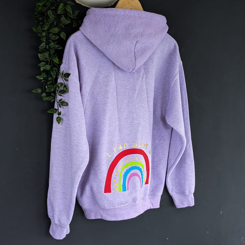 I CAN SING A RAINBOW HOODY