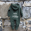 BELIEVE IN THE MAGIC OF CHRISTMAS HOODED ONESIE