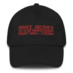 Bruce Jacques Mount Snow 30th Anniversary Hat