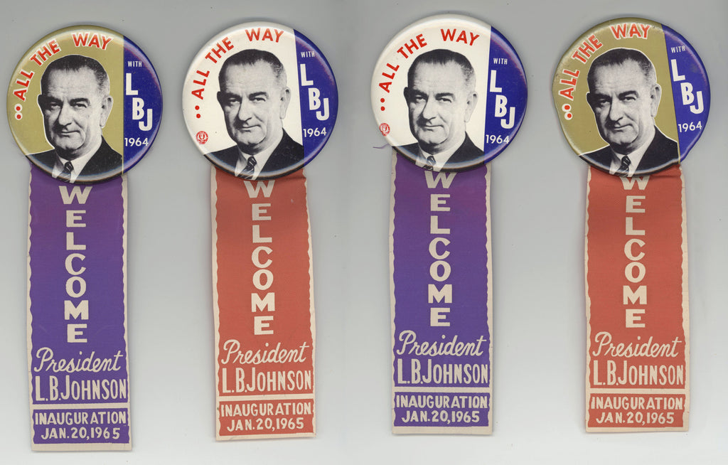 ALL THE WAY WITH LBJ 1964 / INAUGURATION 1965