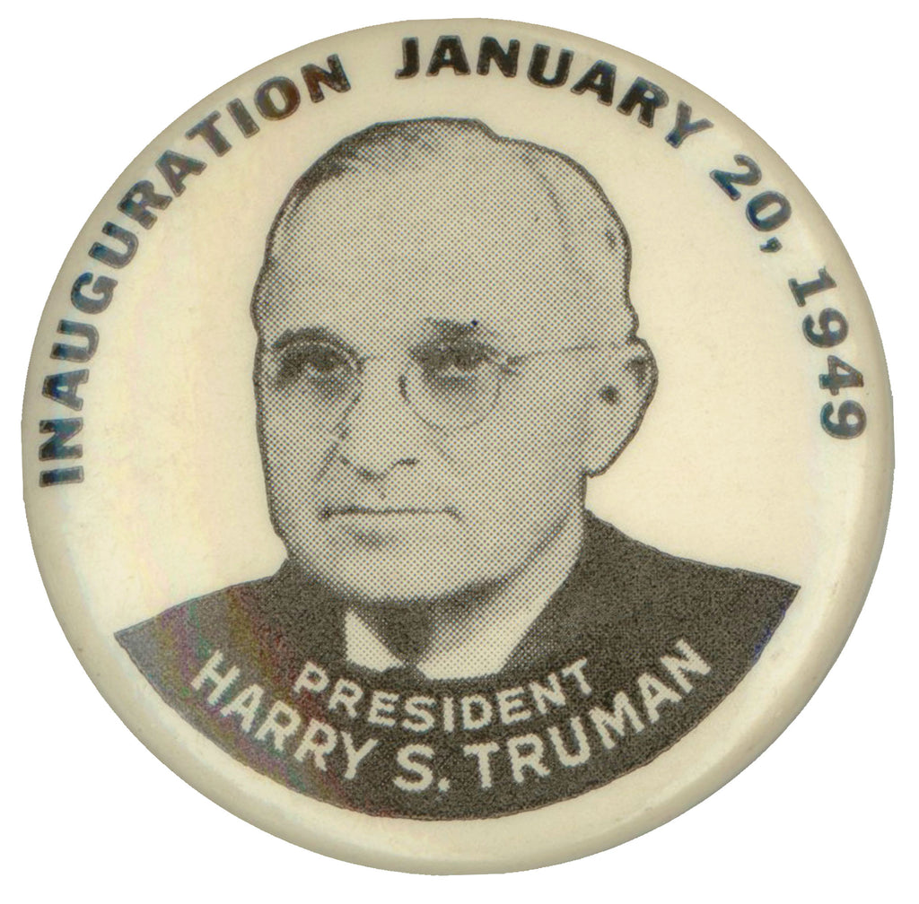 INAUGURATION JANUARY 20, 1949 PRESIDENT HARRY S. TRUMAN
