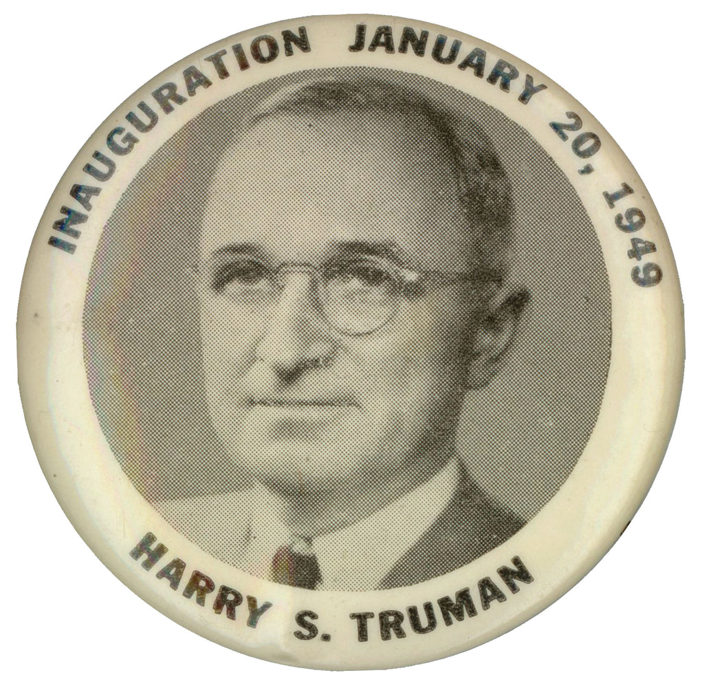 INAUGURATION DAY JANUARY 20, 1949 HARRY S. TRUMAN