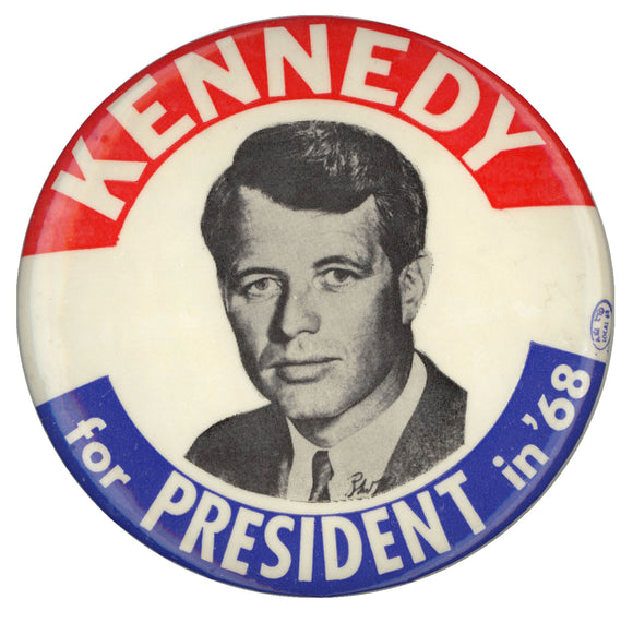 KENNEDY for PRESIDENT in '68