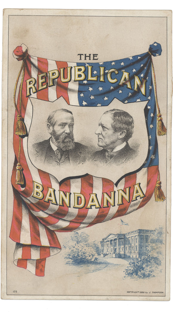 THE REPUBLICAN BANDANNA (Harrison & Morton)