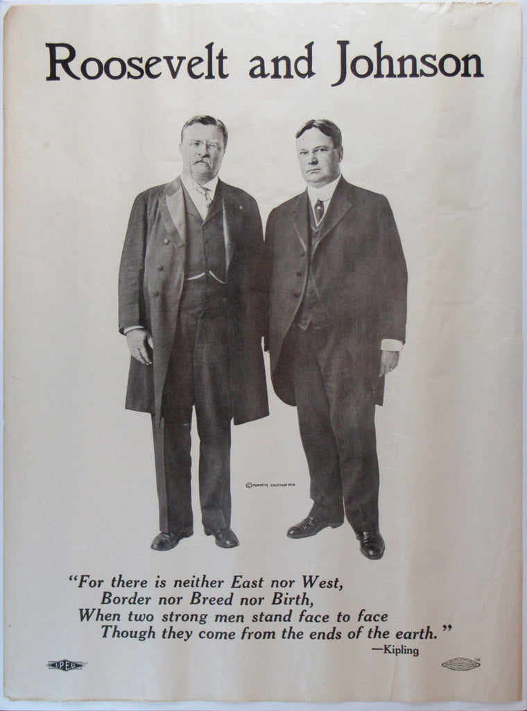 "Roosevelt and Johnson  ""For there is neither East nor West ..."""