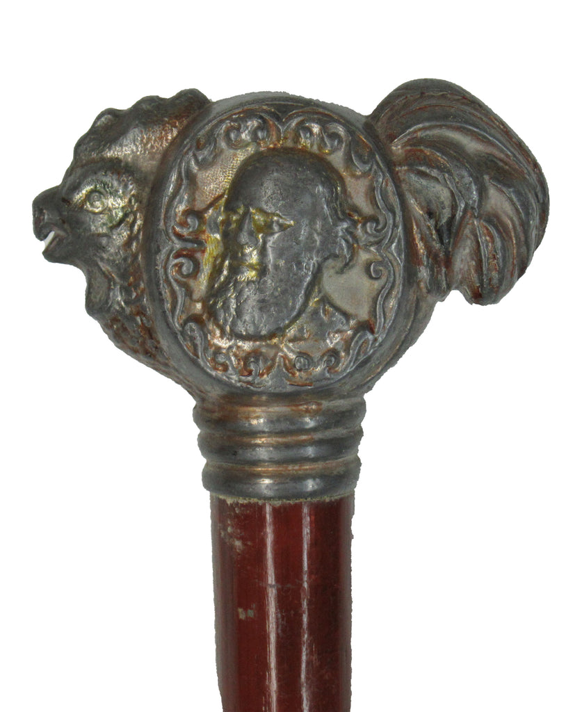 Cleveland & Thurman rooster campaign cane