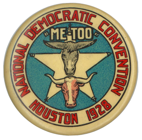 NATIONAL DEMOCRATIC CONVENTION HOUSTON 1928