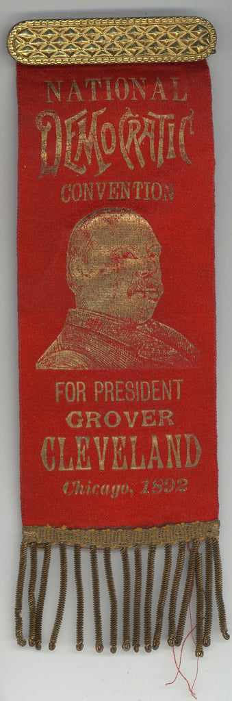 NATIONAL DEMOCRATIC CONVENTION FOR PRESIDENT GROVER CLEVELAND Chicago, 1892