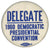 DELEGATE 1960 DEMOCRATIC PRESIDENTIAL CONVENTION
