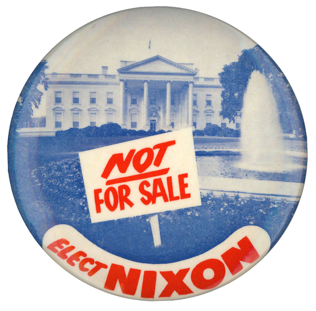 NOT FOR SALE  ELECT NIXON