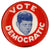 VOTE DEMOCRATIC (John F. Kennedy)
