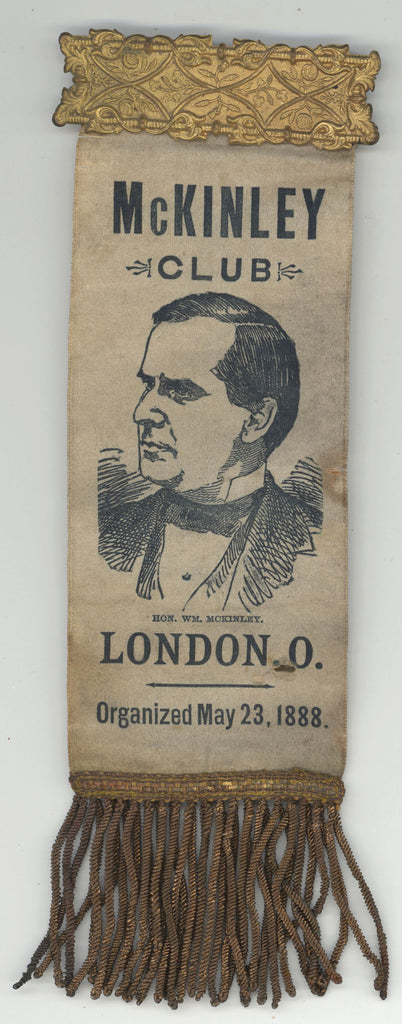 McKINLEY CLUB  LONDON, O.  Organized May 23, 1888.