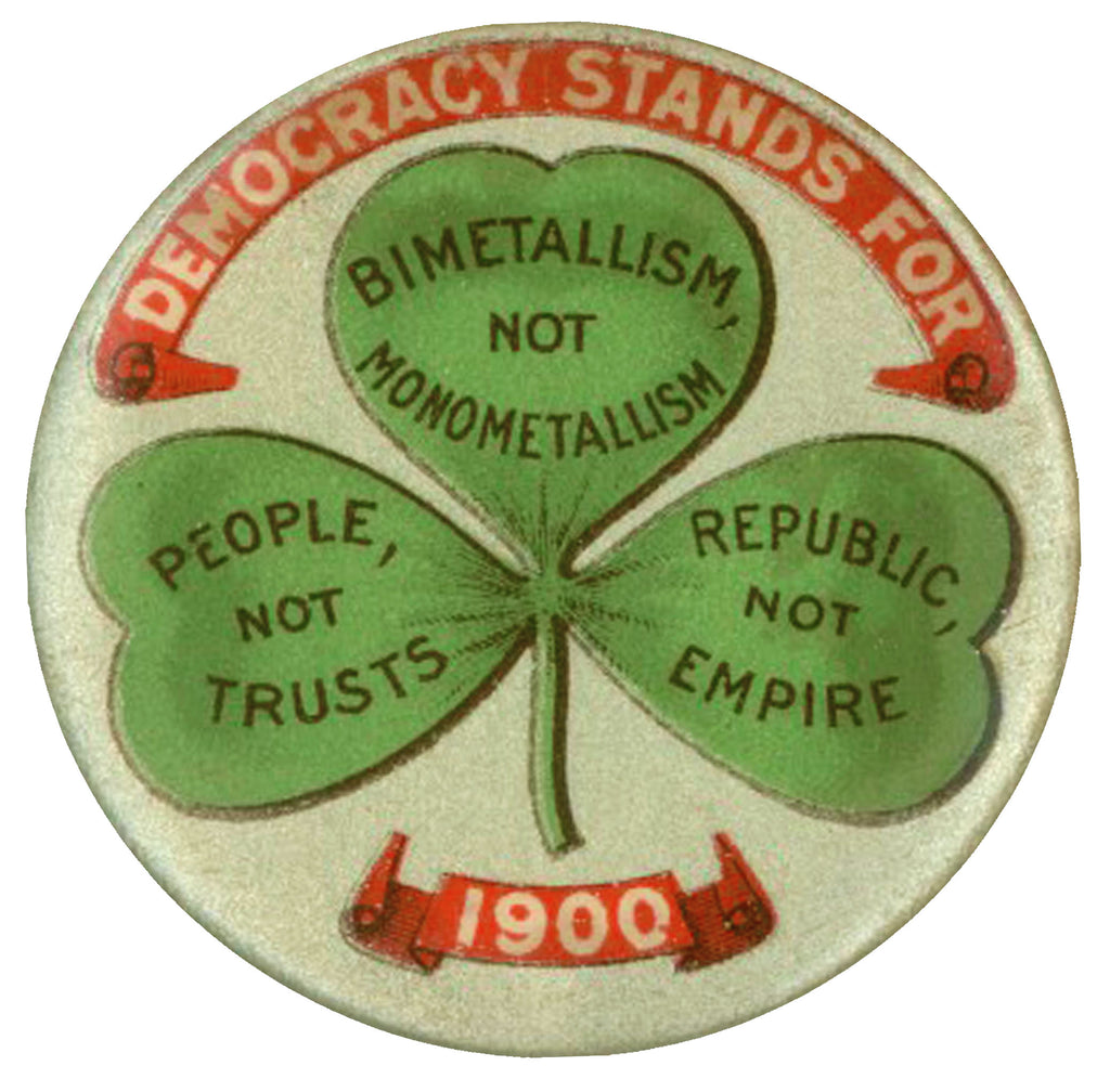 DEMOCRACY STANDS FOR ... 1900