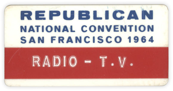 REPUBLICAN NATIONAL CONVENTION SAN FRANCISCO 1964