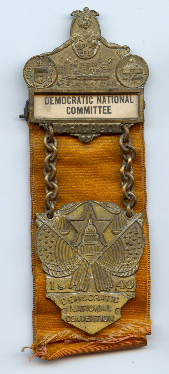 DEMOCRATIC NATIONAL COMMITTEE / 1940 DEMOCRATIC NATIONAL CONVENTION